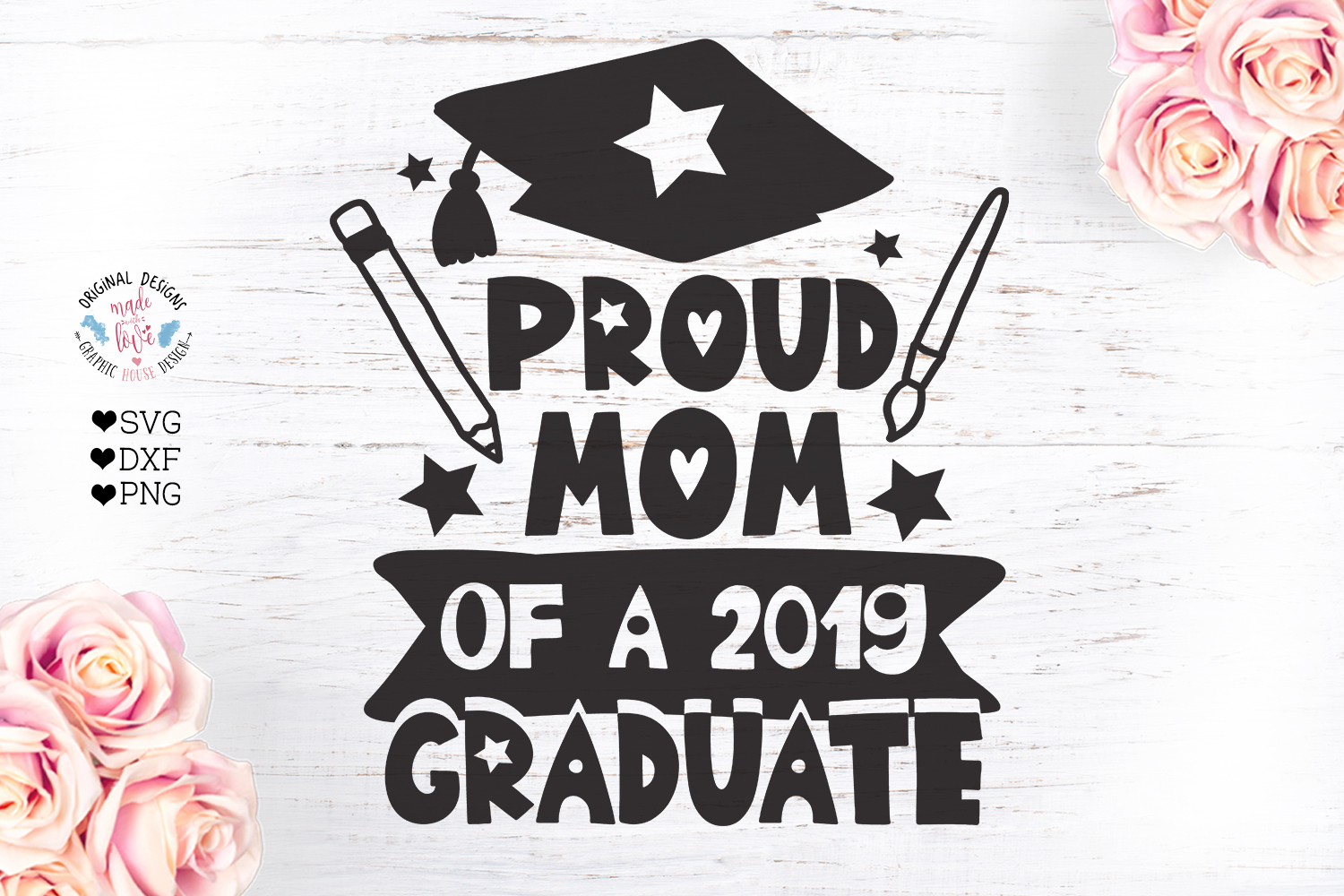 Proud Mom of a 2019 Graduate example image 2