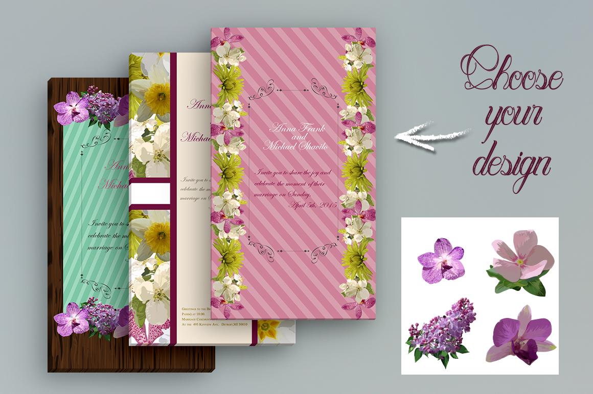 32 Realistic flowers bundle. example image 5