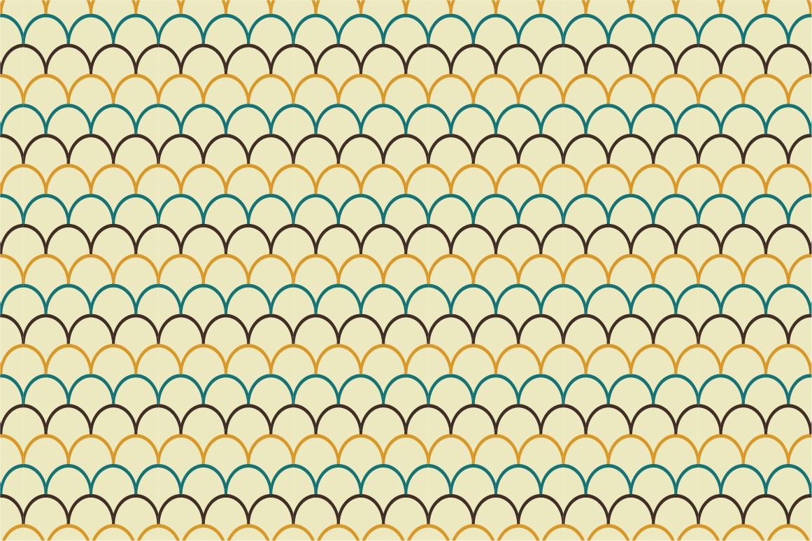 Retro patterns - seamless. example image 2
