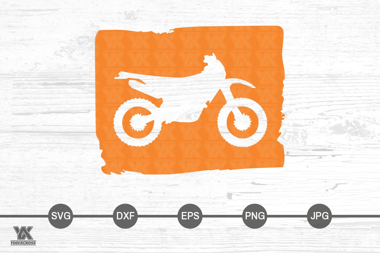 Dirtbike SVG example image 2