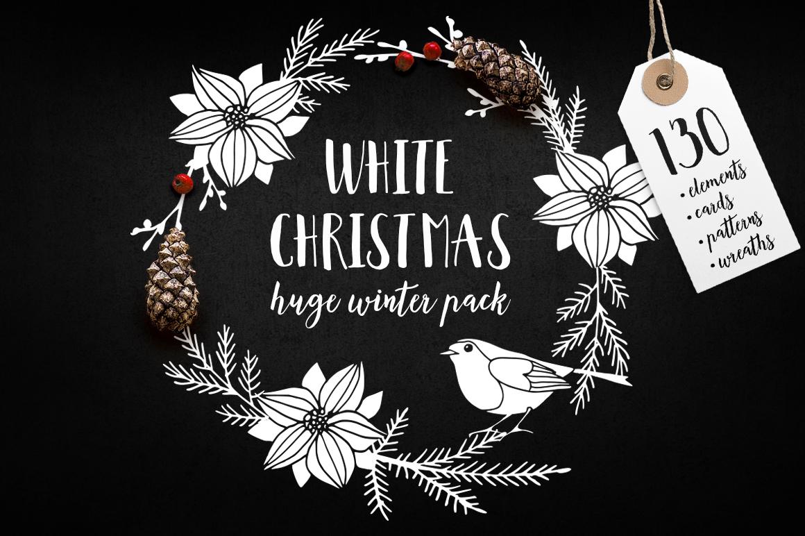 White Christmas set example image 1