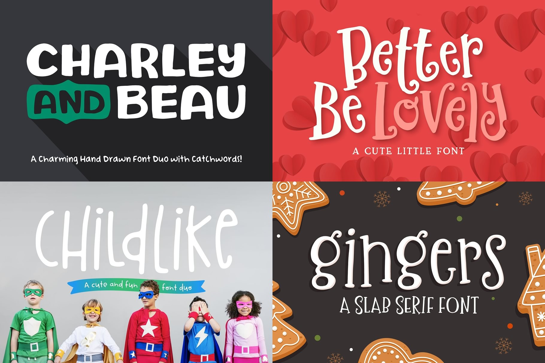 The Utterly Delightful Font Pack example image 2