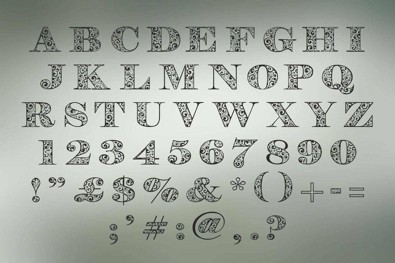 Holijoy font example image 3