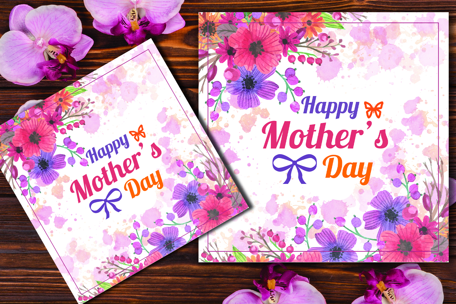 Happy Mother's Day Greeting Card example image 1