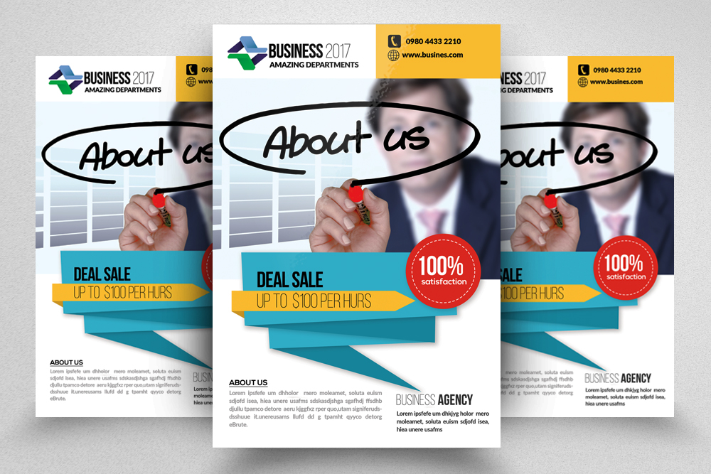 10 Business Flyer Bundle example image 3