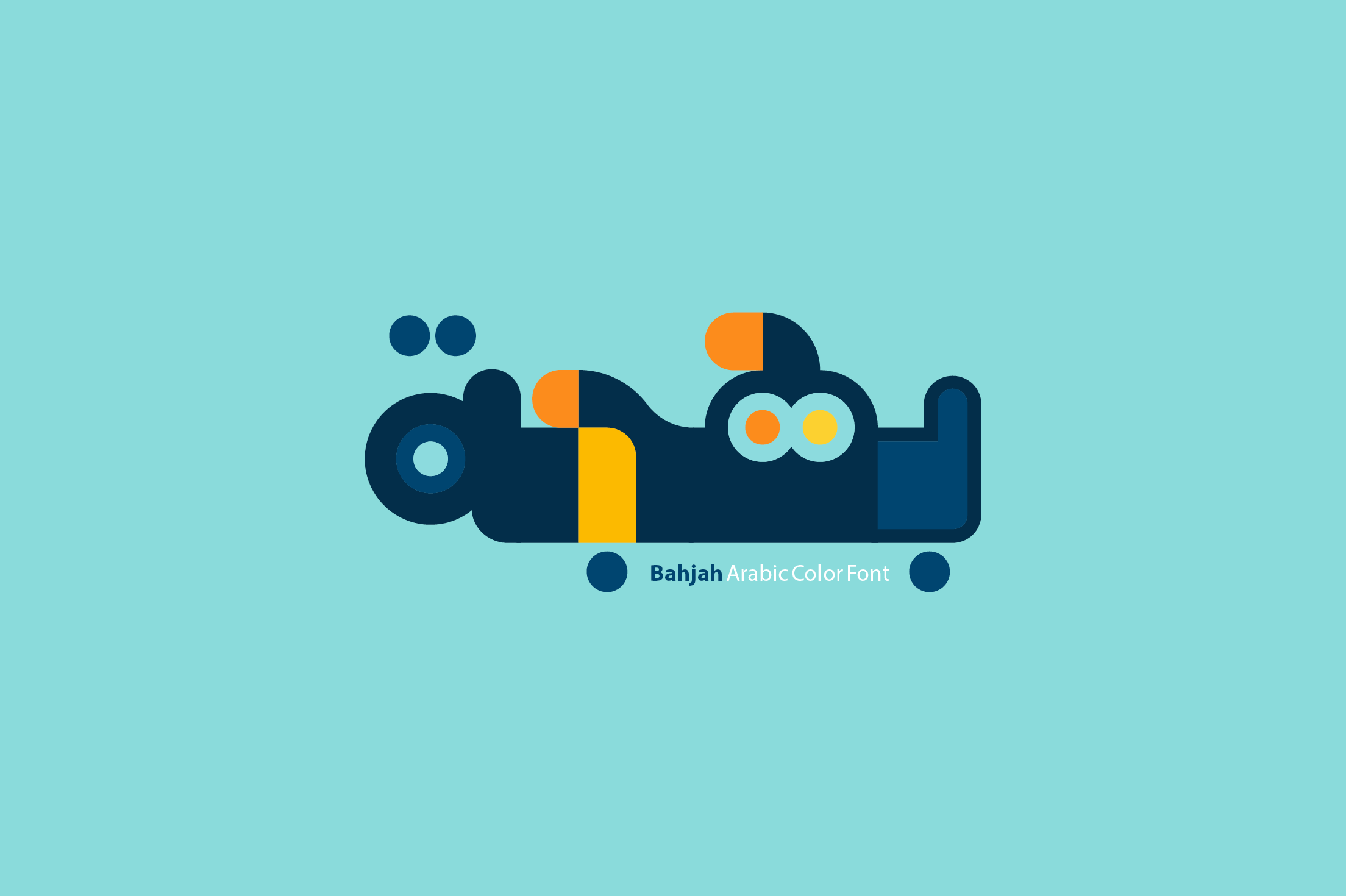 Bahjah - Arabic Colorfont example image 1