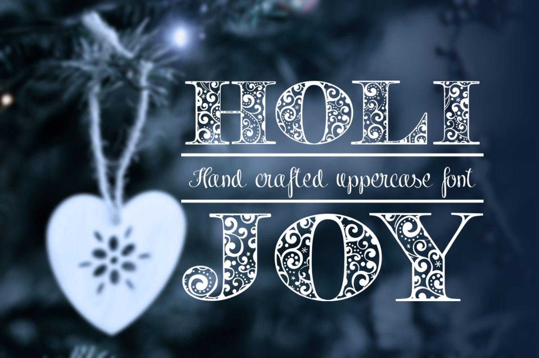 Holijoy font example image 2