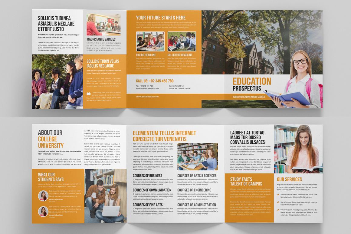 Education Prospectus Brochure Bundle example image 14