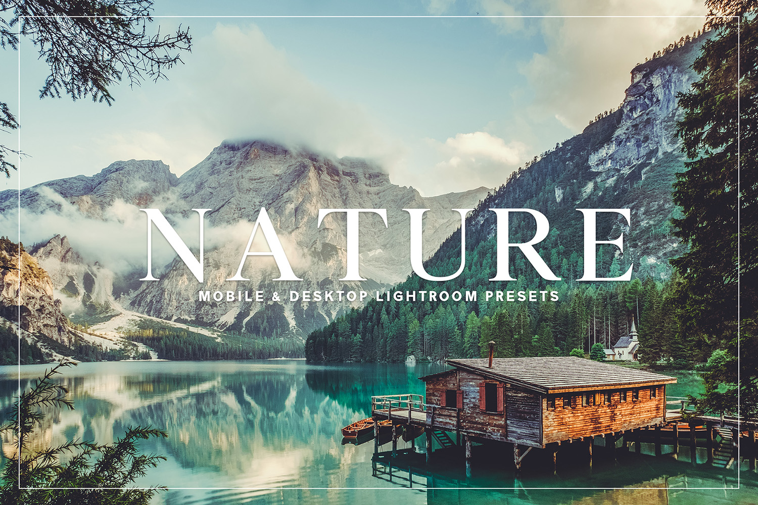 Nature Mobile and Desktop Lightroom Presets Collection example image 1
