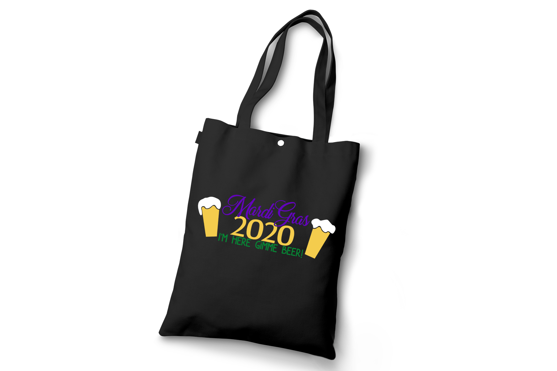 Mardi Gras 2020, I'm Here Gimme a Beer! A Mardi Gras SVG example image 2