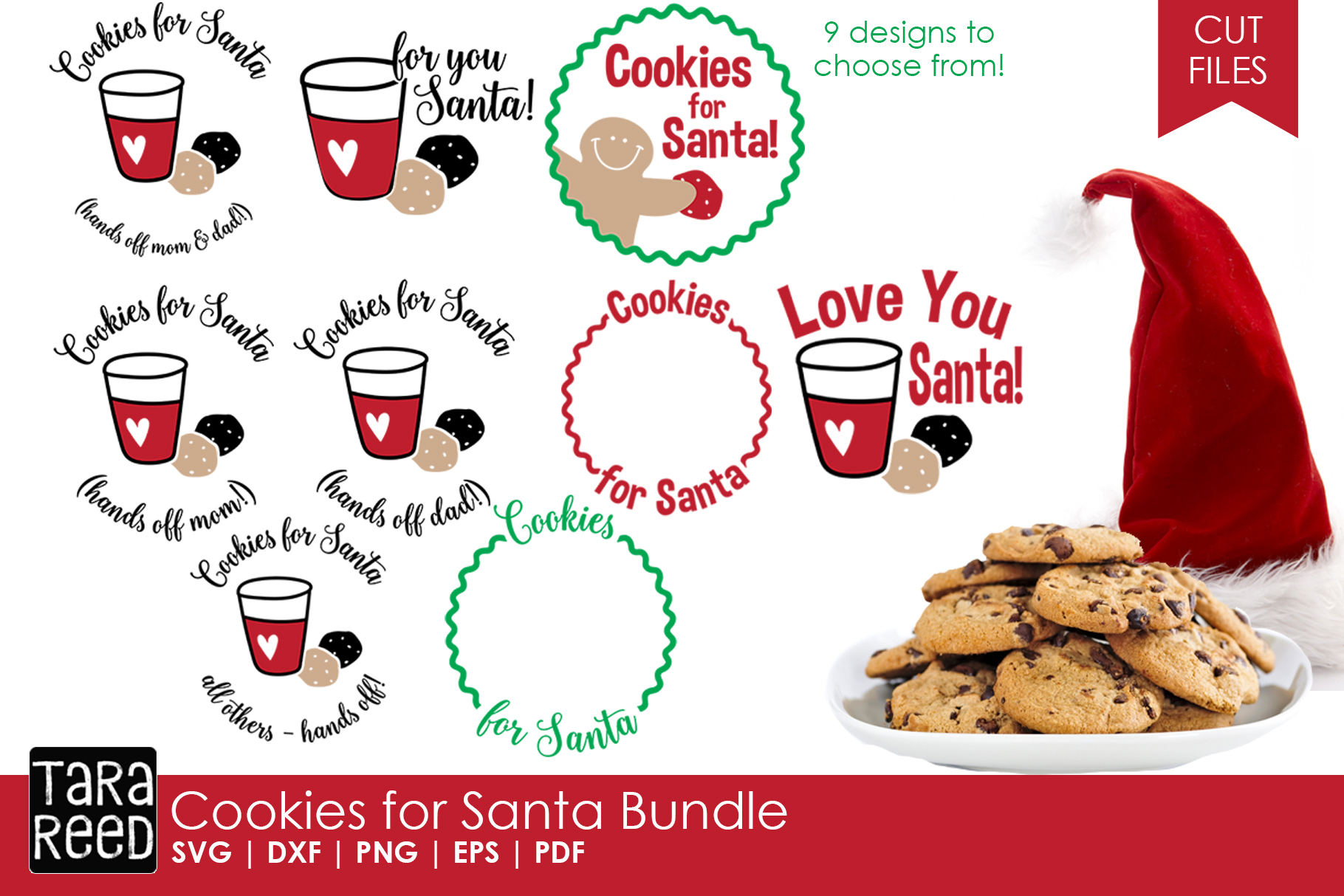 Kids Christmas MEGA Bundle - SVG and Cut Files for Crafters example image 4