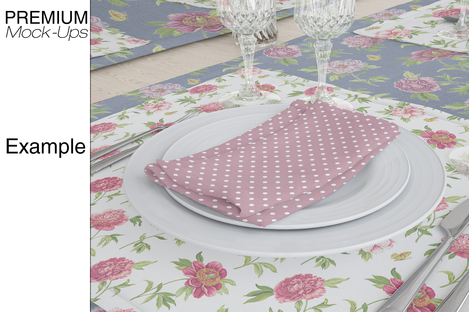 Tablecloth, Runner, Napkins & Plates example image 11
