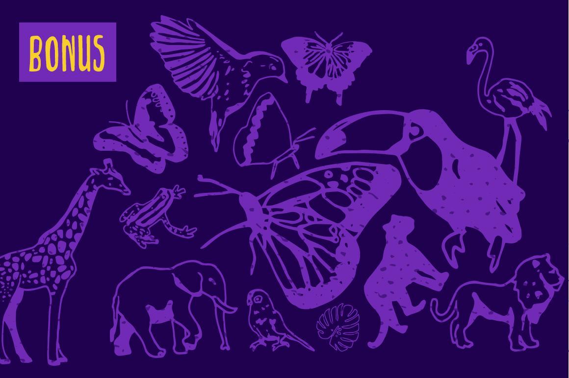 Jungle - Decorative Sans Serif example image 6