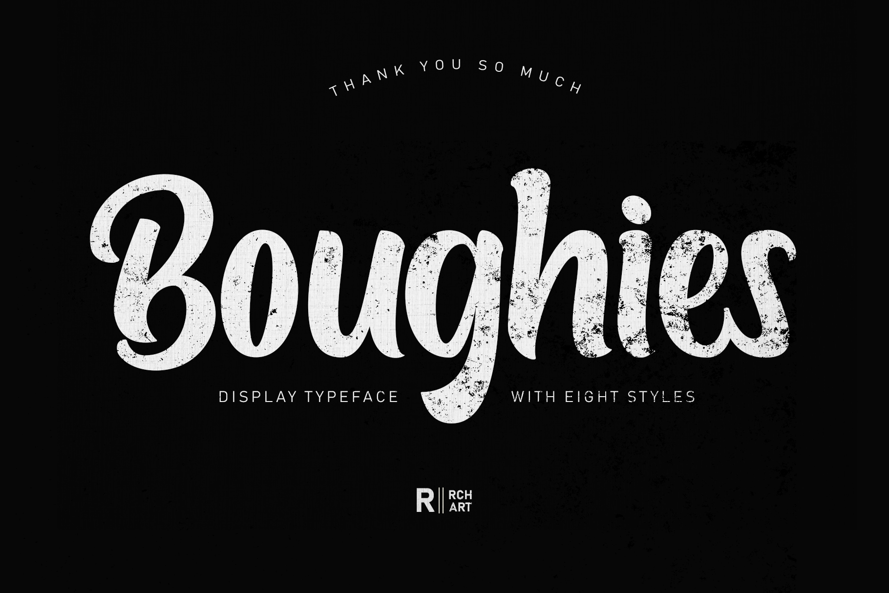 Boughies Display Typeface example image 12