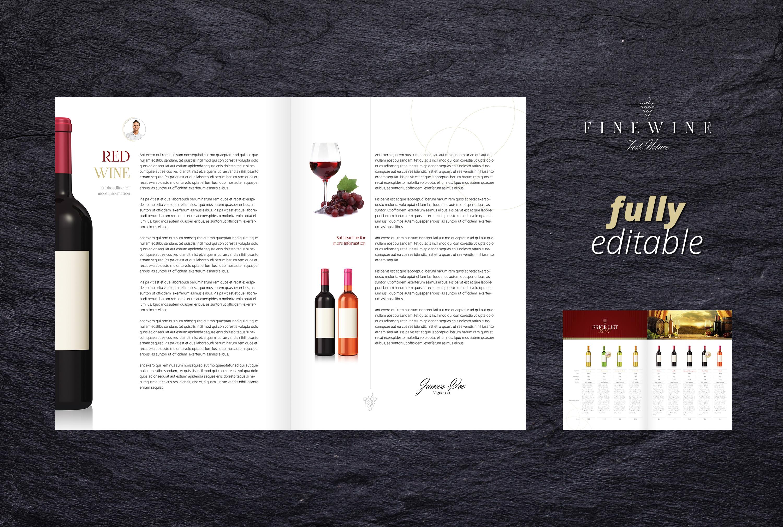 FINE WINE - Sales & Image Brochure example image 2