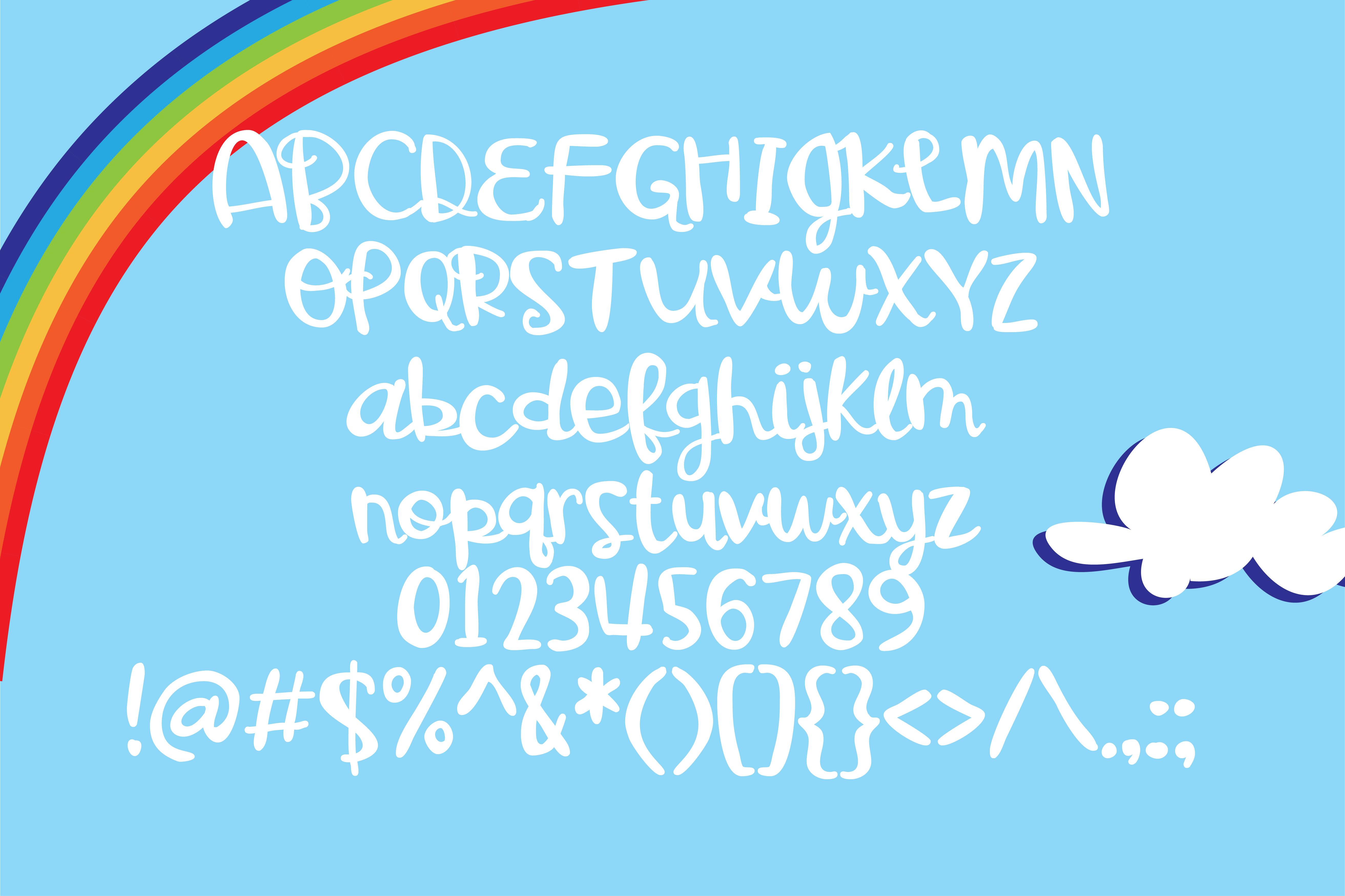 PN Gooey Gumdrops Script example image 2