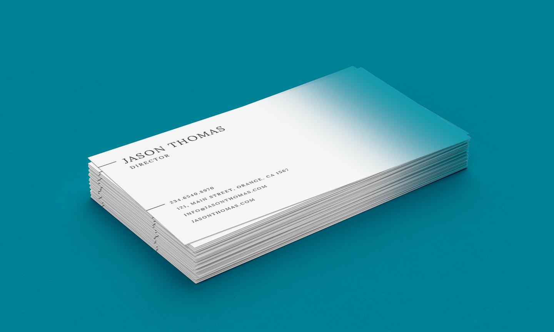 Bright Colour Beautiful Elegant Business Card 5 example image 4