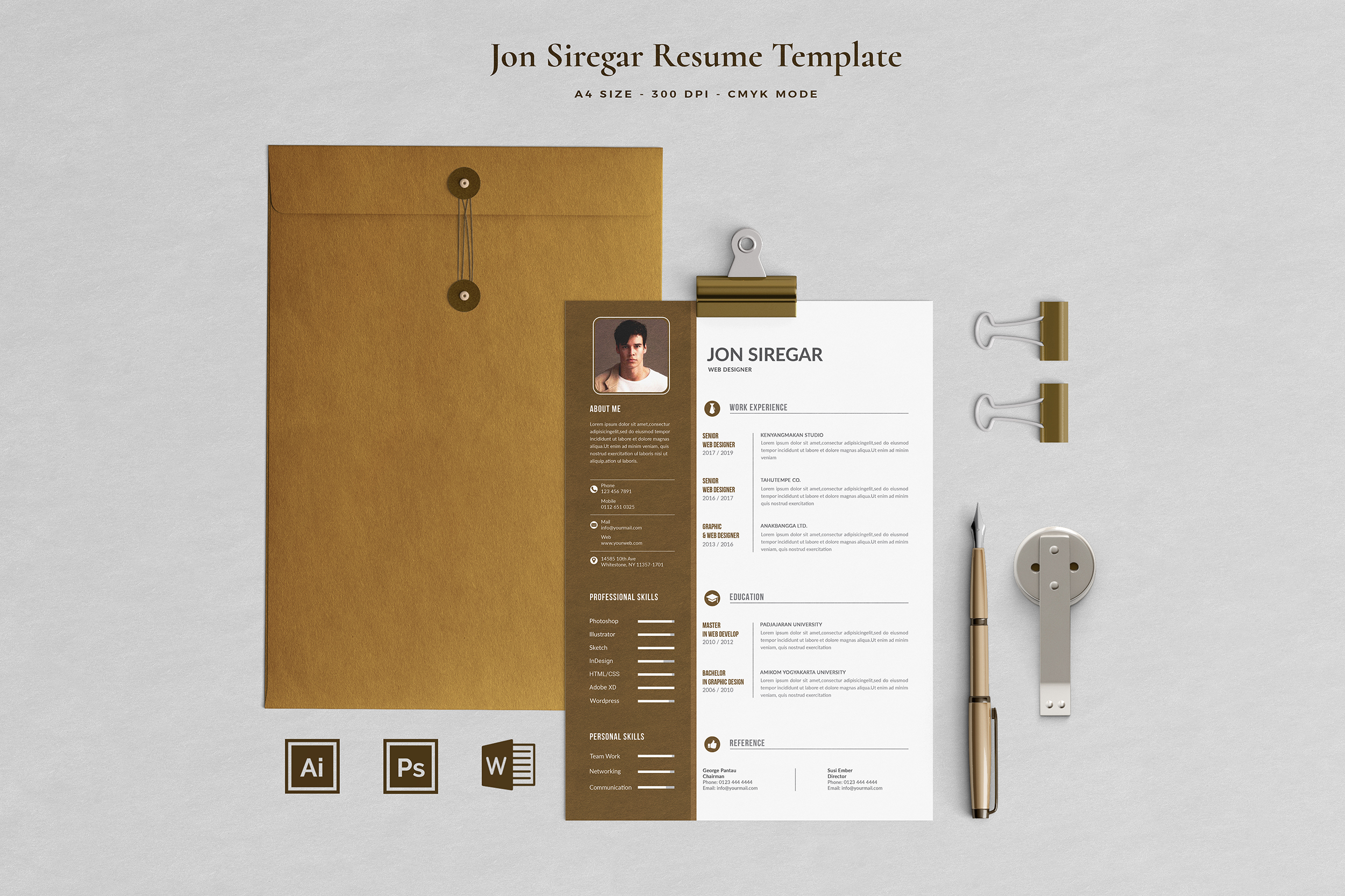 Job Seeker's Resume Bundle example image 12