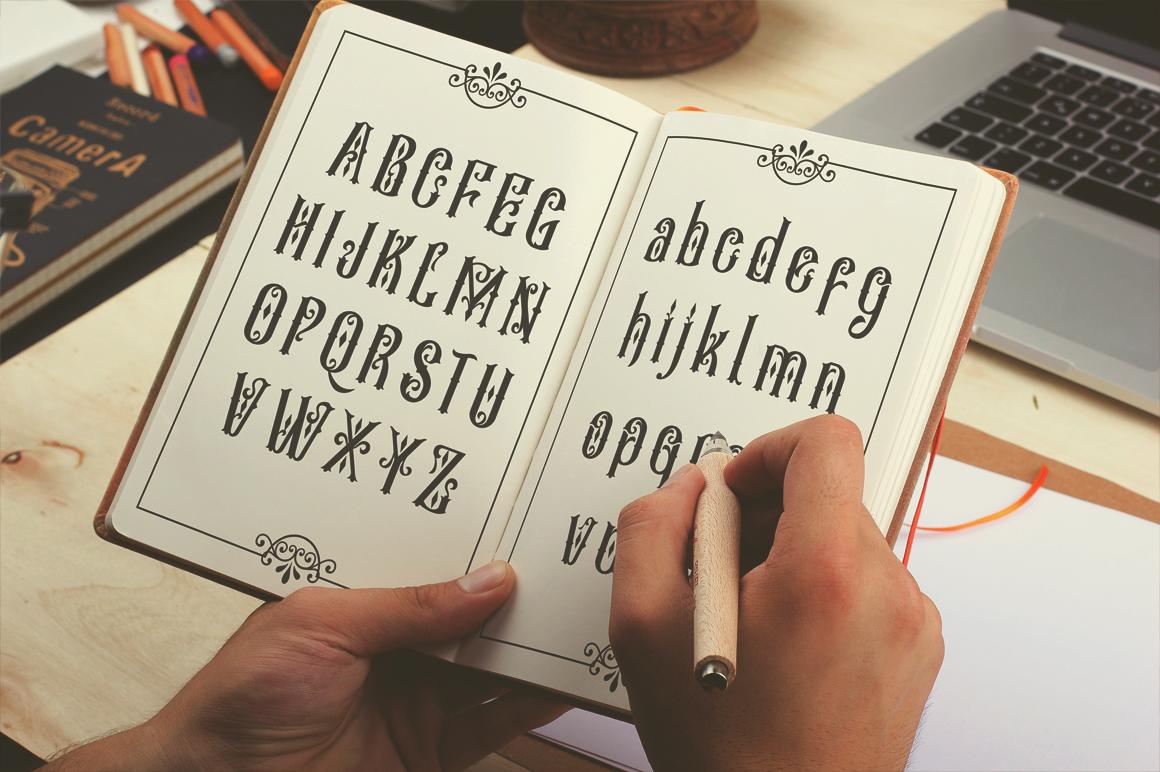 Besigetz Typeface example image 2