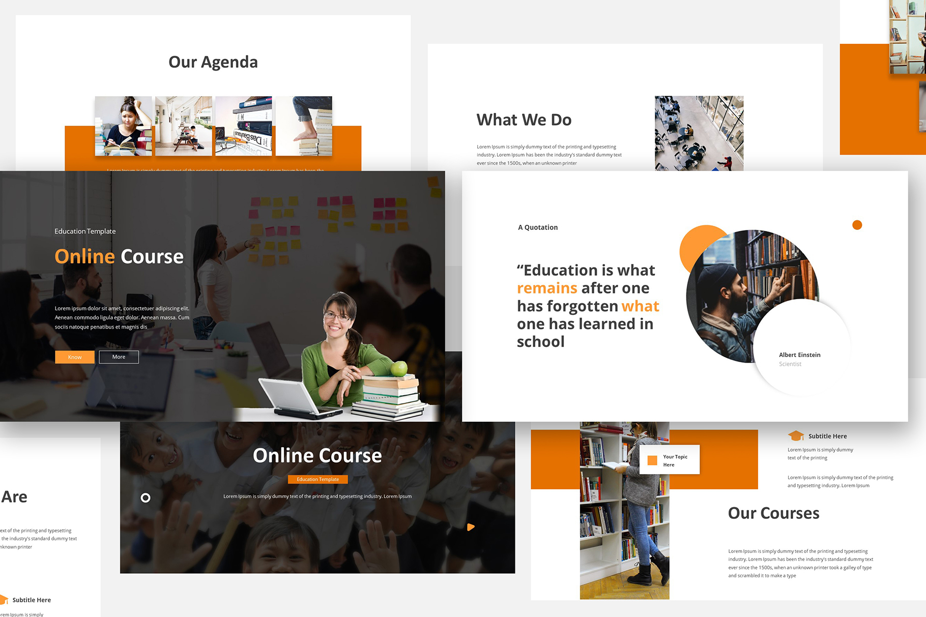 Online Course Keynote Template example image 1