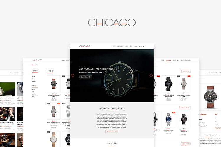 Chicago Shopify Theme example image 1