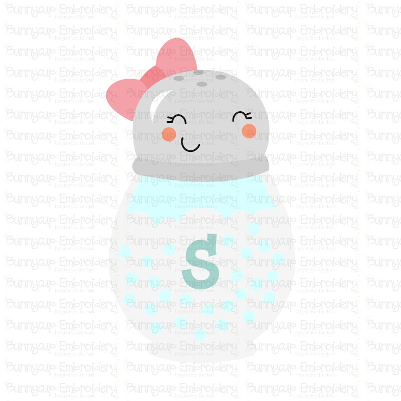 Food Duo - Salt Shaker - SVG, Clipart, Printable example image 2