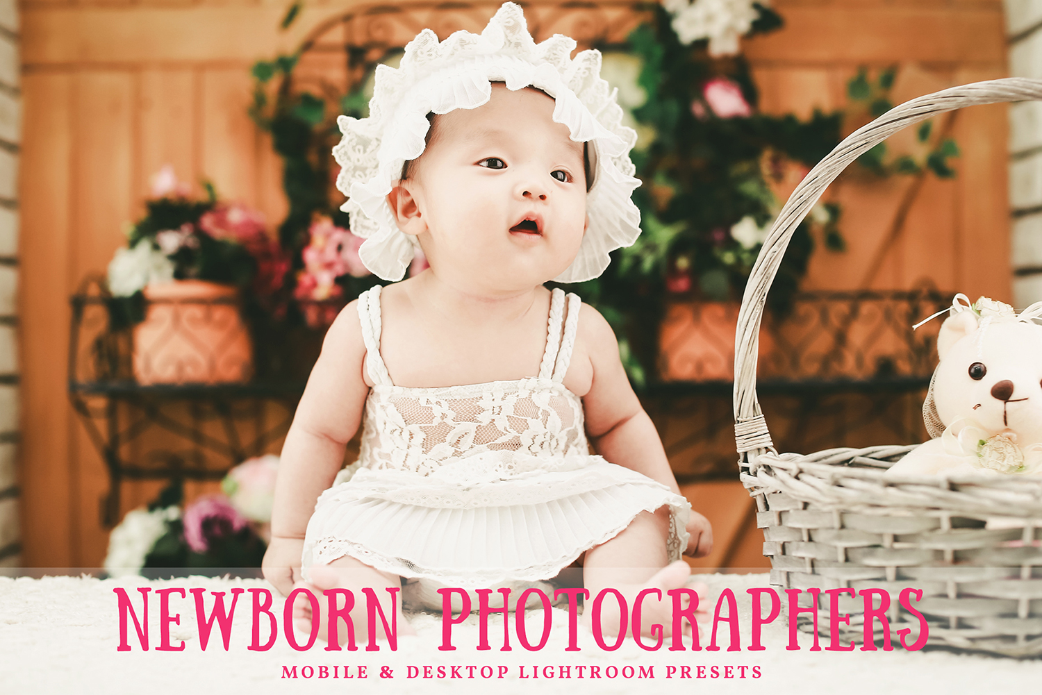 Newborn Photographers Mobile and Desktop Lightroom Presets example image 1