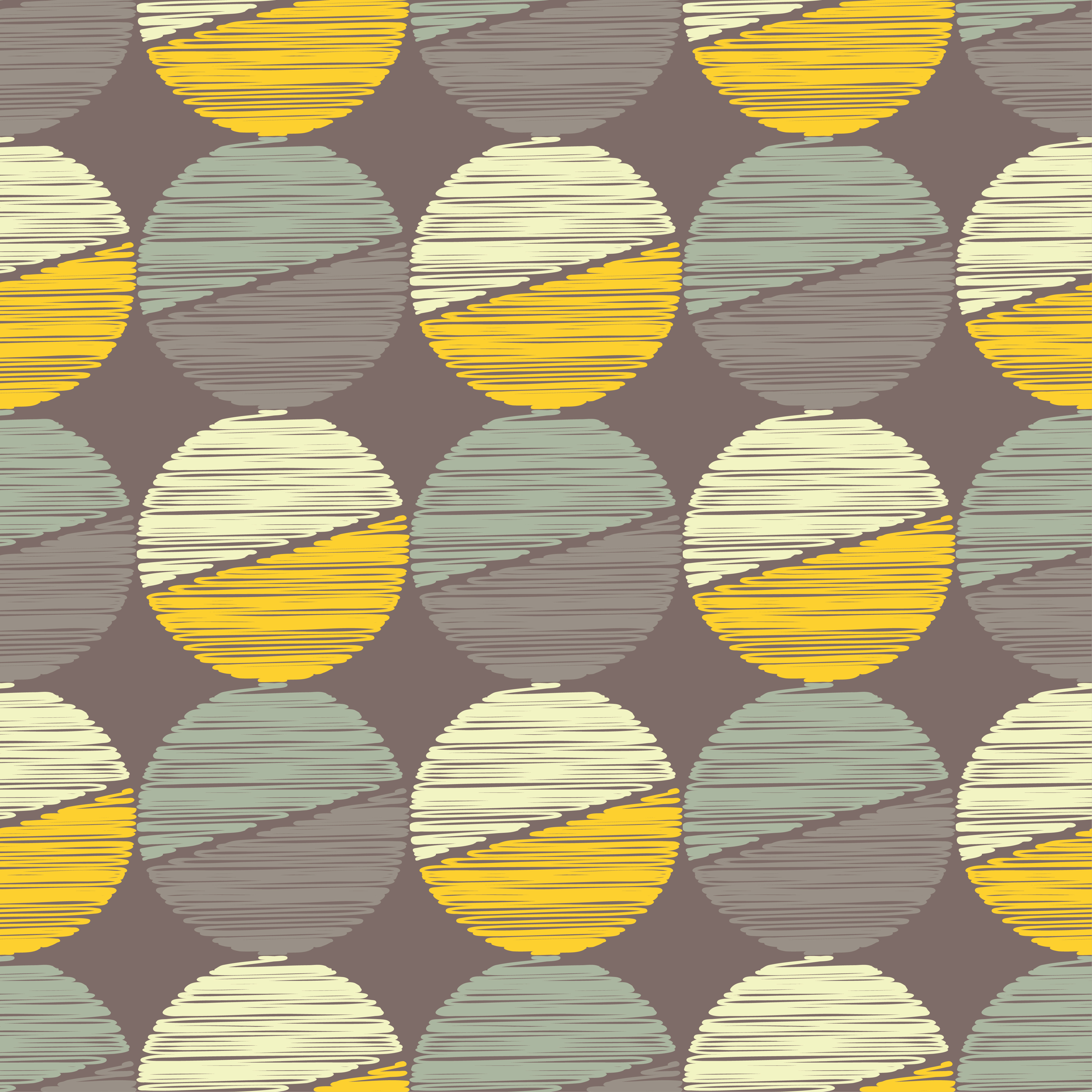 Polka dot seamless pattern. Scribble texture.  example image 3