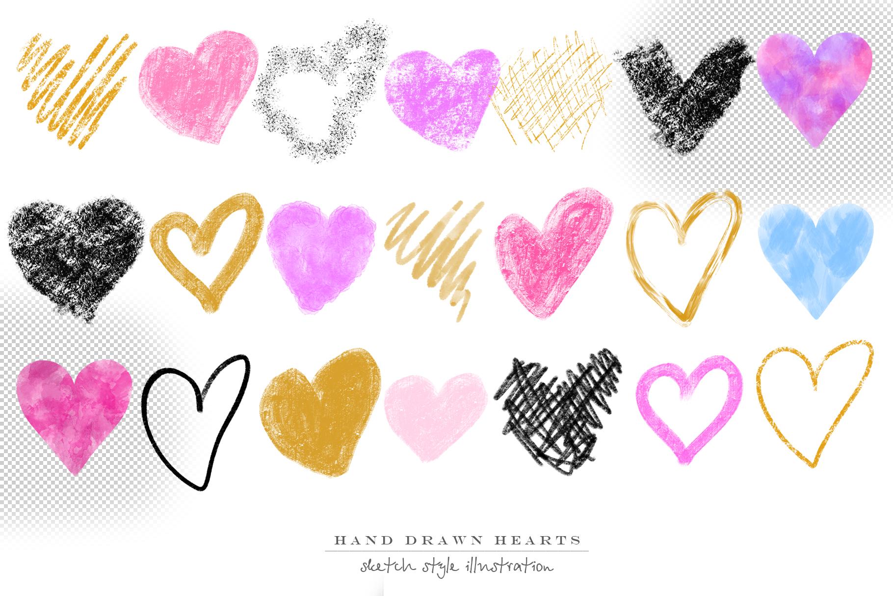 Stylish hearts example image 4