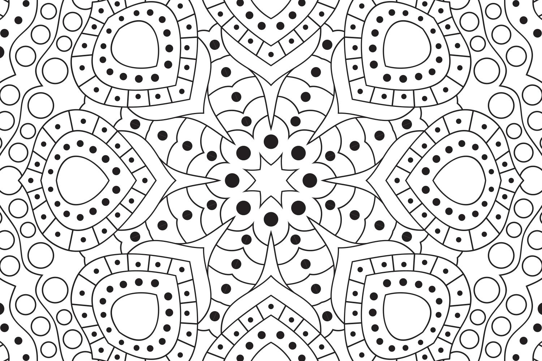 Vector Mandala Art example image 2