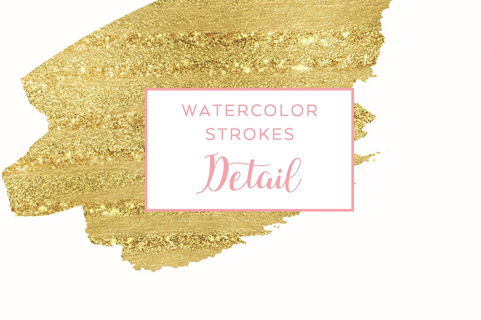 48 Pastel Watercolor Strokes example image 4