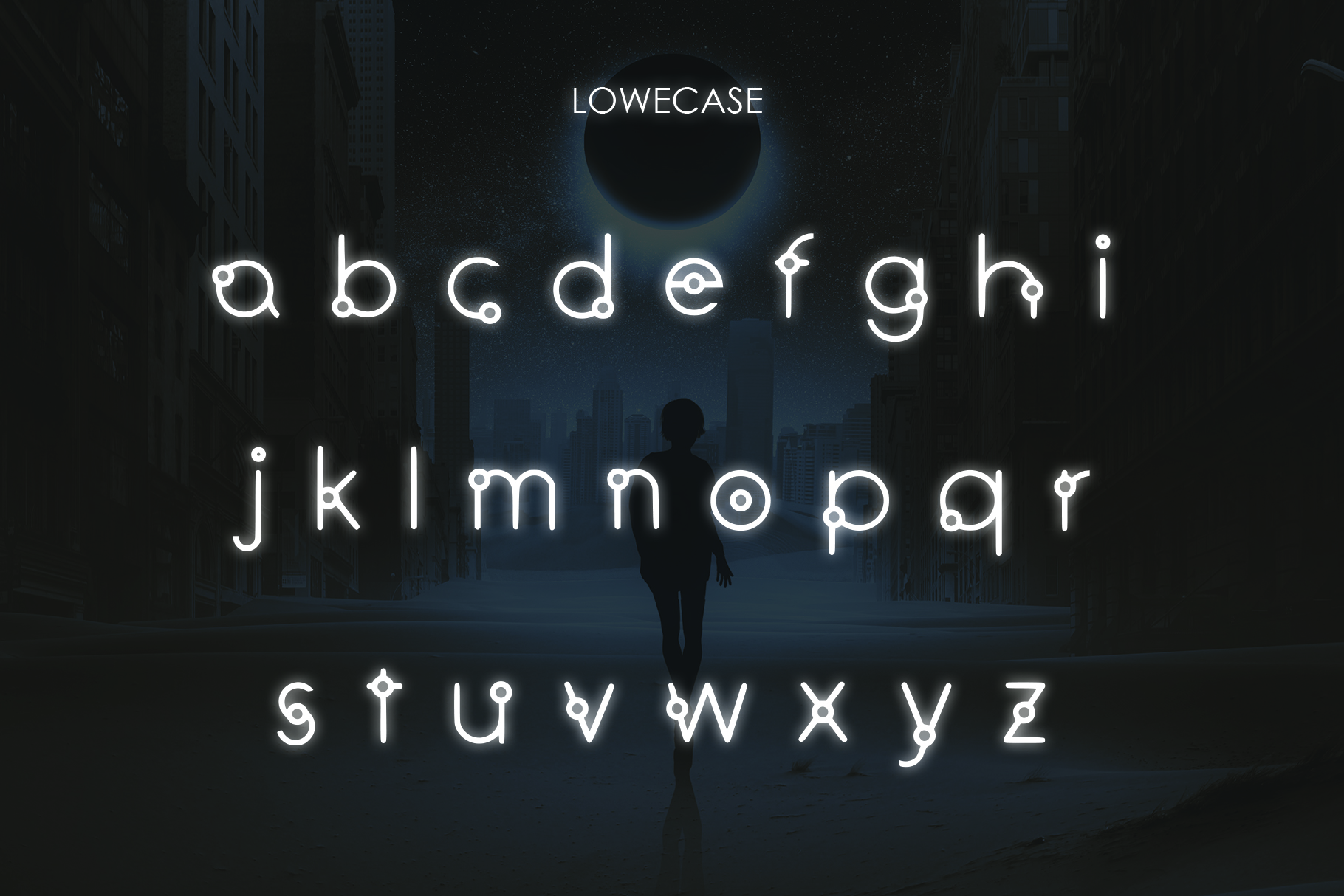 EQUINOX - A Font for the Space Age example image 4