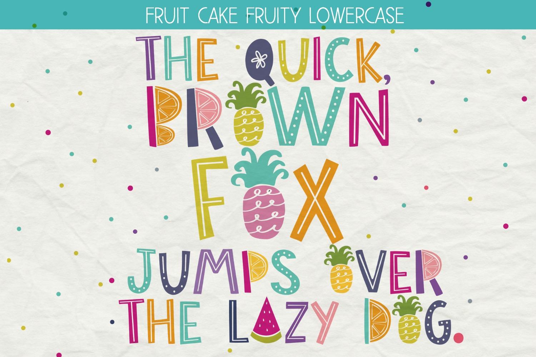 Fruit Cake Handwritten Font example image 2