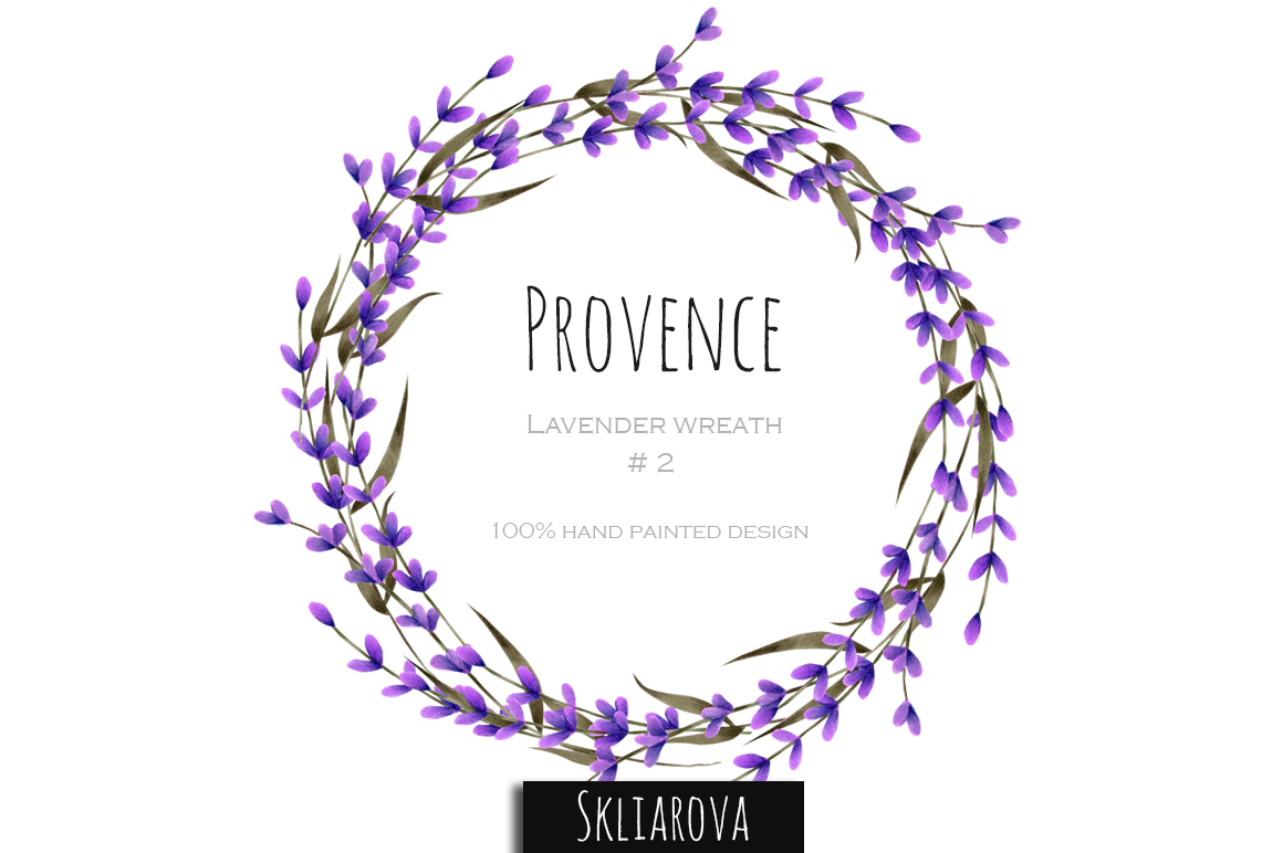 Provence. Lavender wreath #2 example image 1