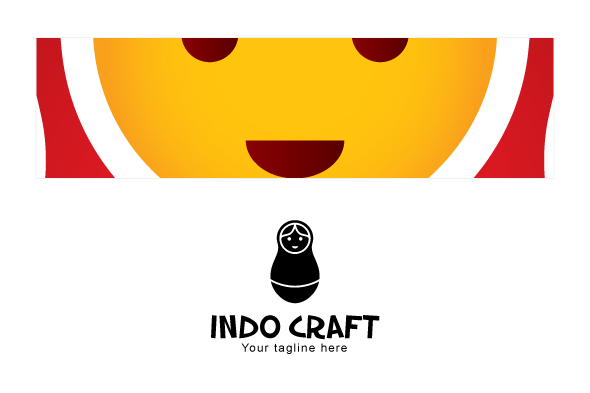 Indo Craft - Illustrative Stock Logo Template for Handicraft example image 3