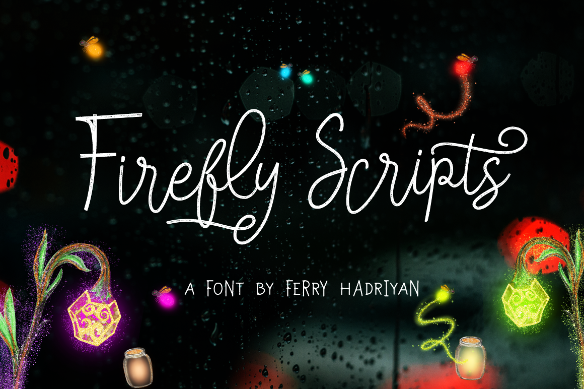 Firefly - Handletter Family example image 1