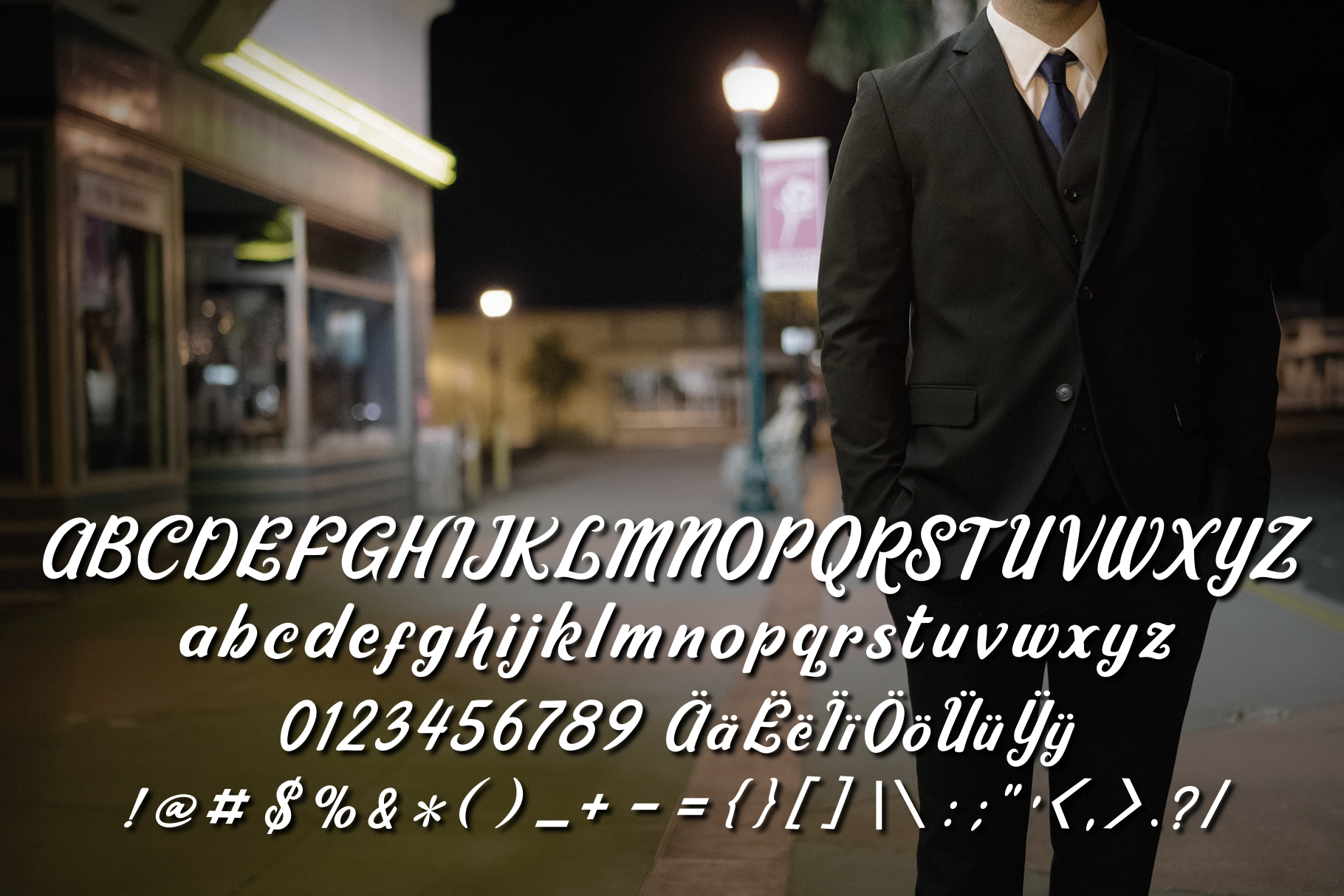 Ricky Lhambert Font example image 2