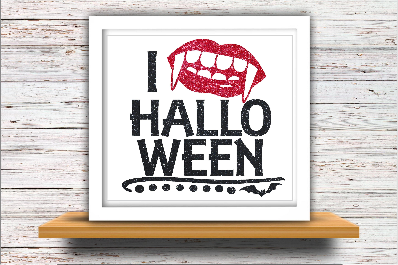 Bat SVG DXF JPEG Silhouette Cricut love Halloween lips glitt example image 2