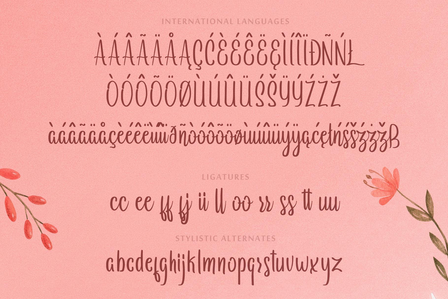 Arayara Script Font example image 6