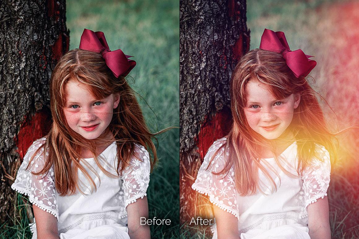 119 Colorful Light Leaks Photo Overlays example image 10