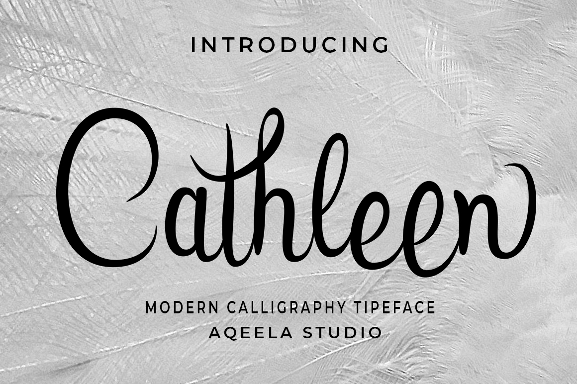 Cathleen Script example image 1