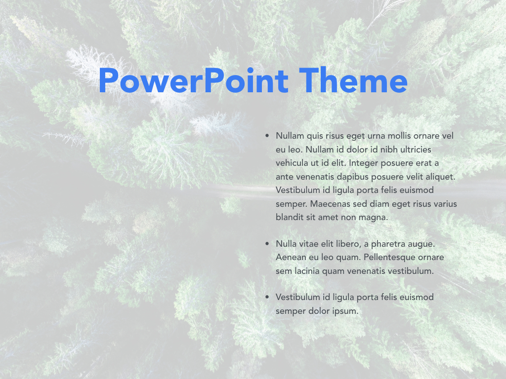 Avid Traveler PowerPoint Template example image 30