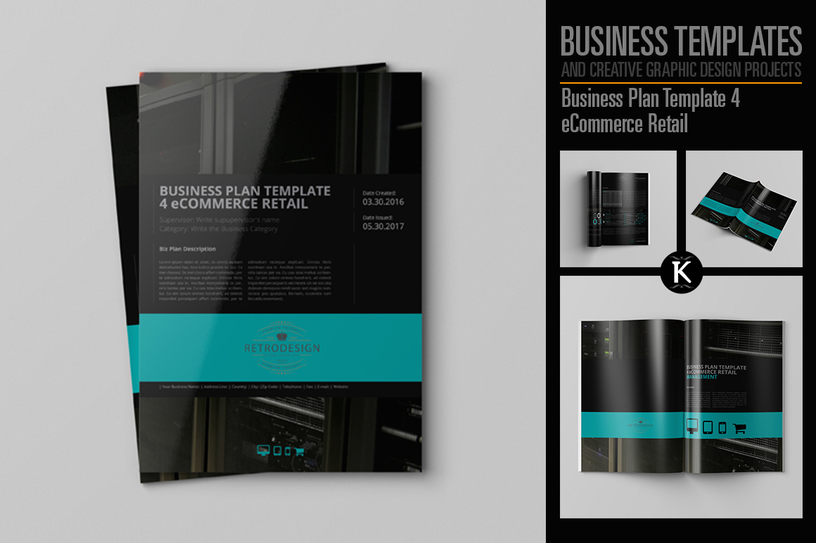 Business Plan Template 4 eCommerce Retail example image 1