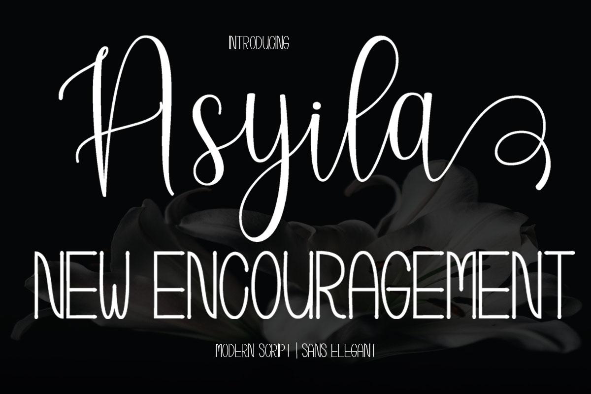 Sweeth Calligraphy Design - Font Bundles example image 11
