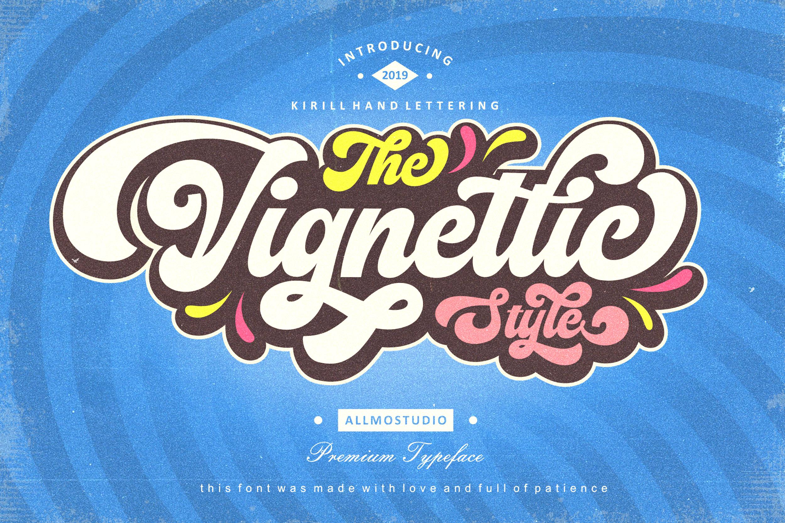 Vignettic Font example image 1