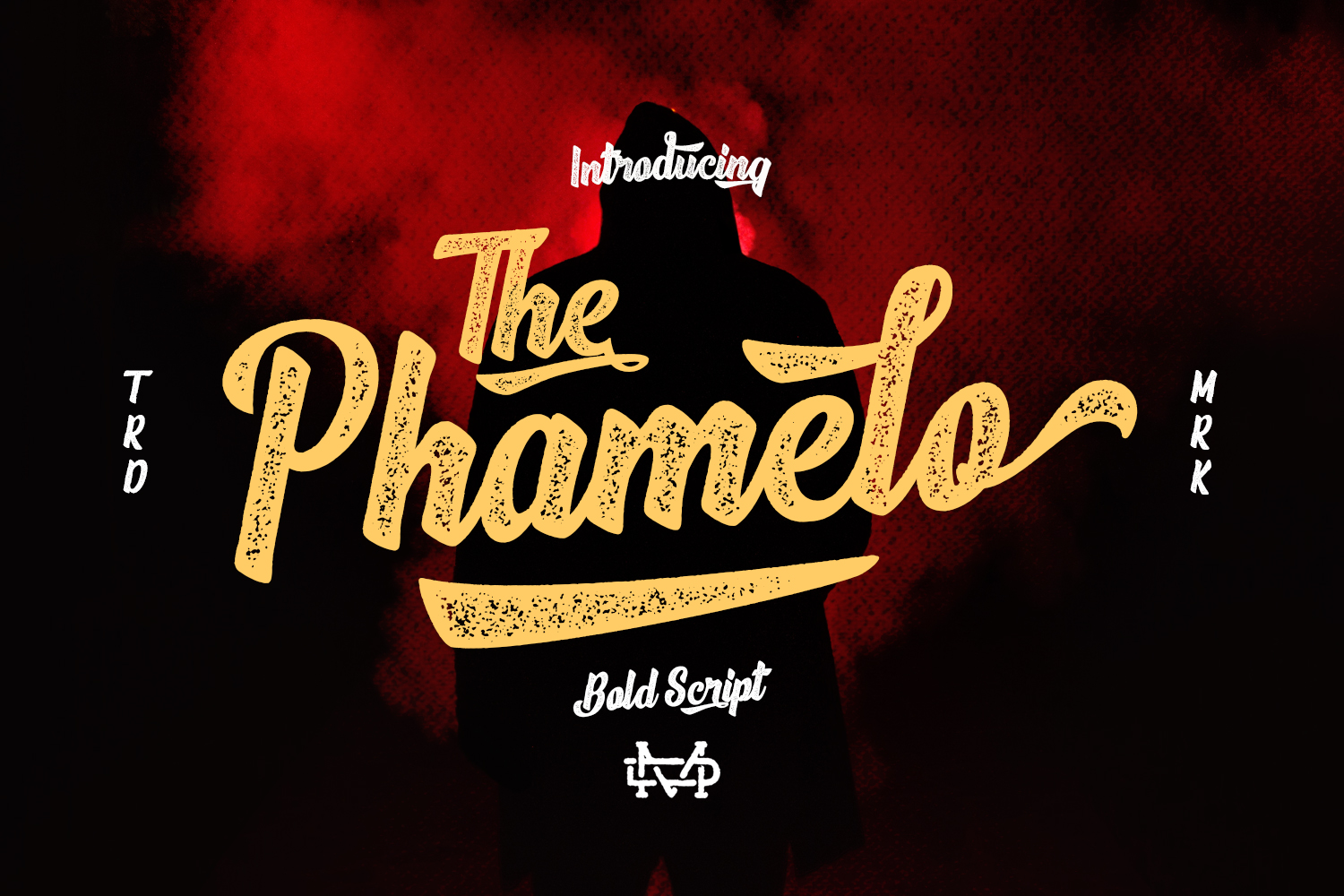 Phamelo - Bold Script example image 2