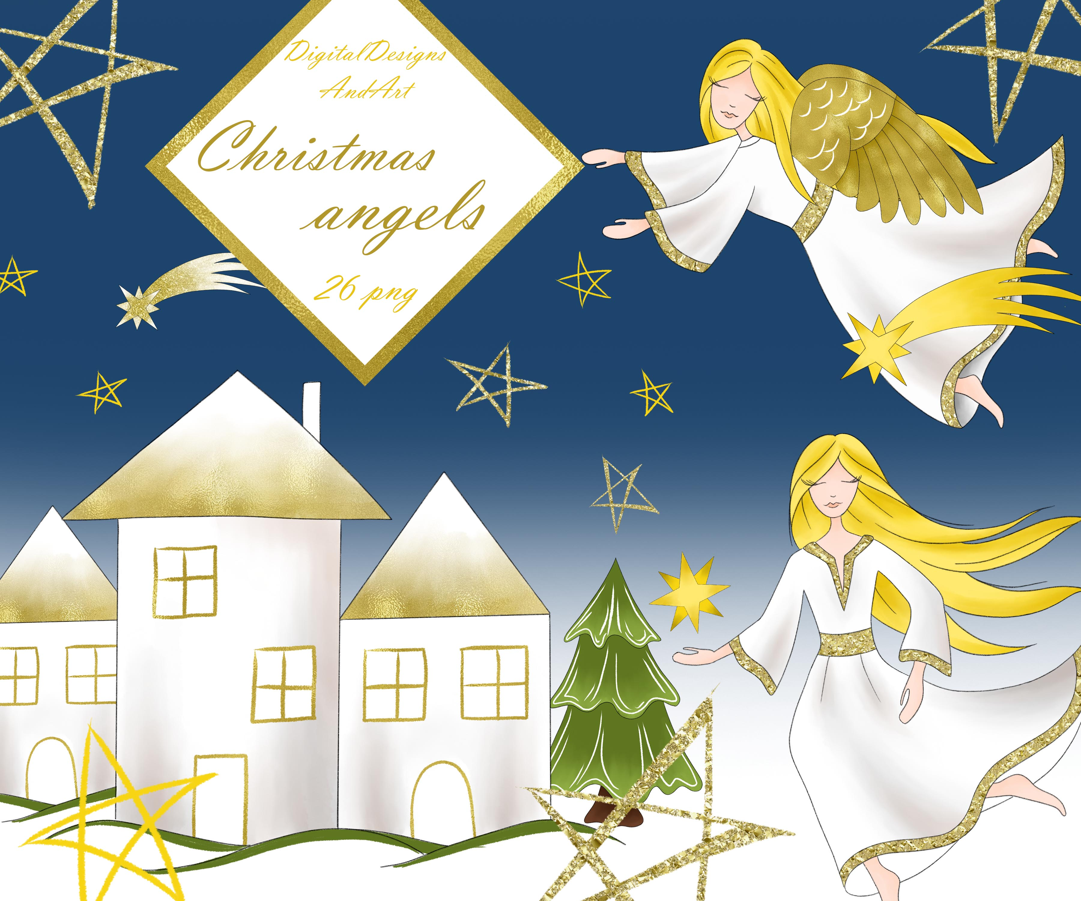 Christmas Angels Images Clip Art.Christmas Angels Clipart