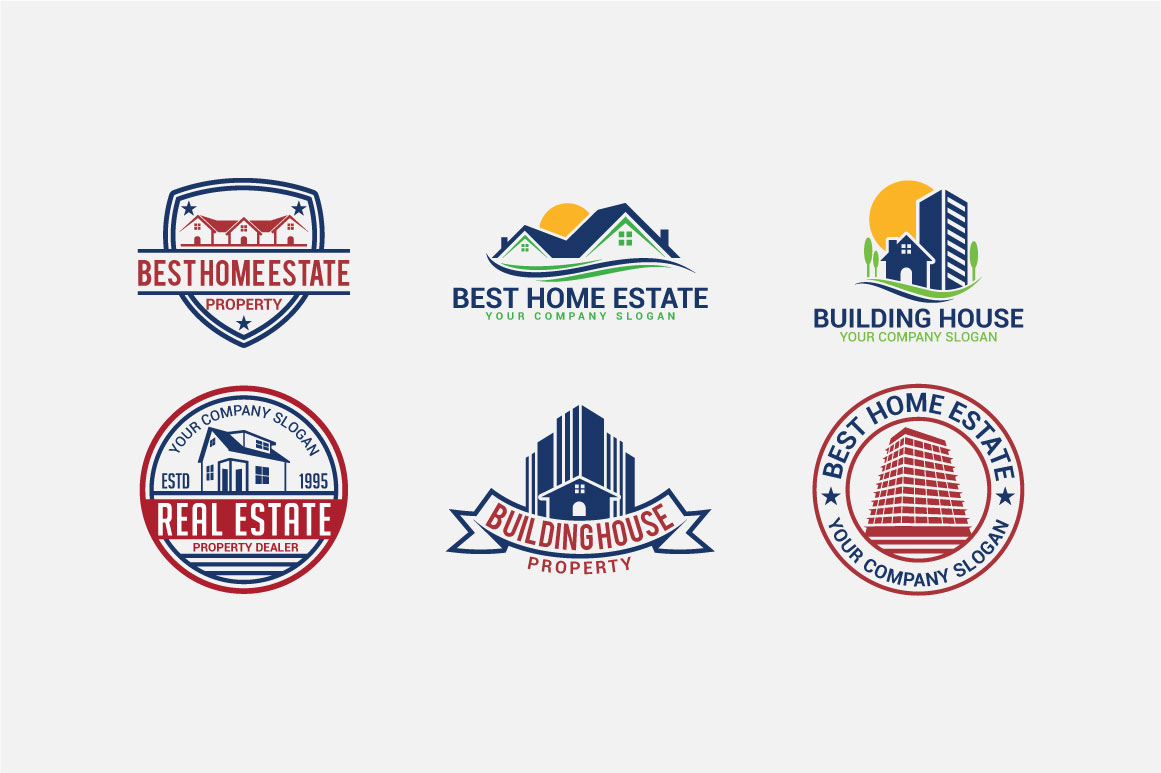 Real Estate Logo & Badges example image 2