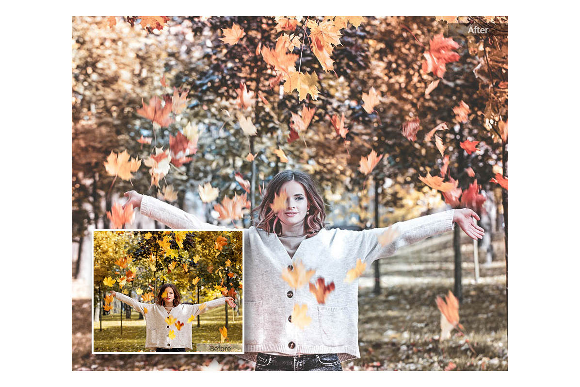 Autumn Lightroom Mobile Presets Adroid and Iphone/Ipad example image 2