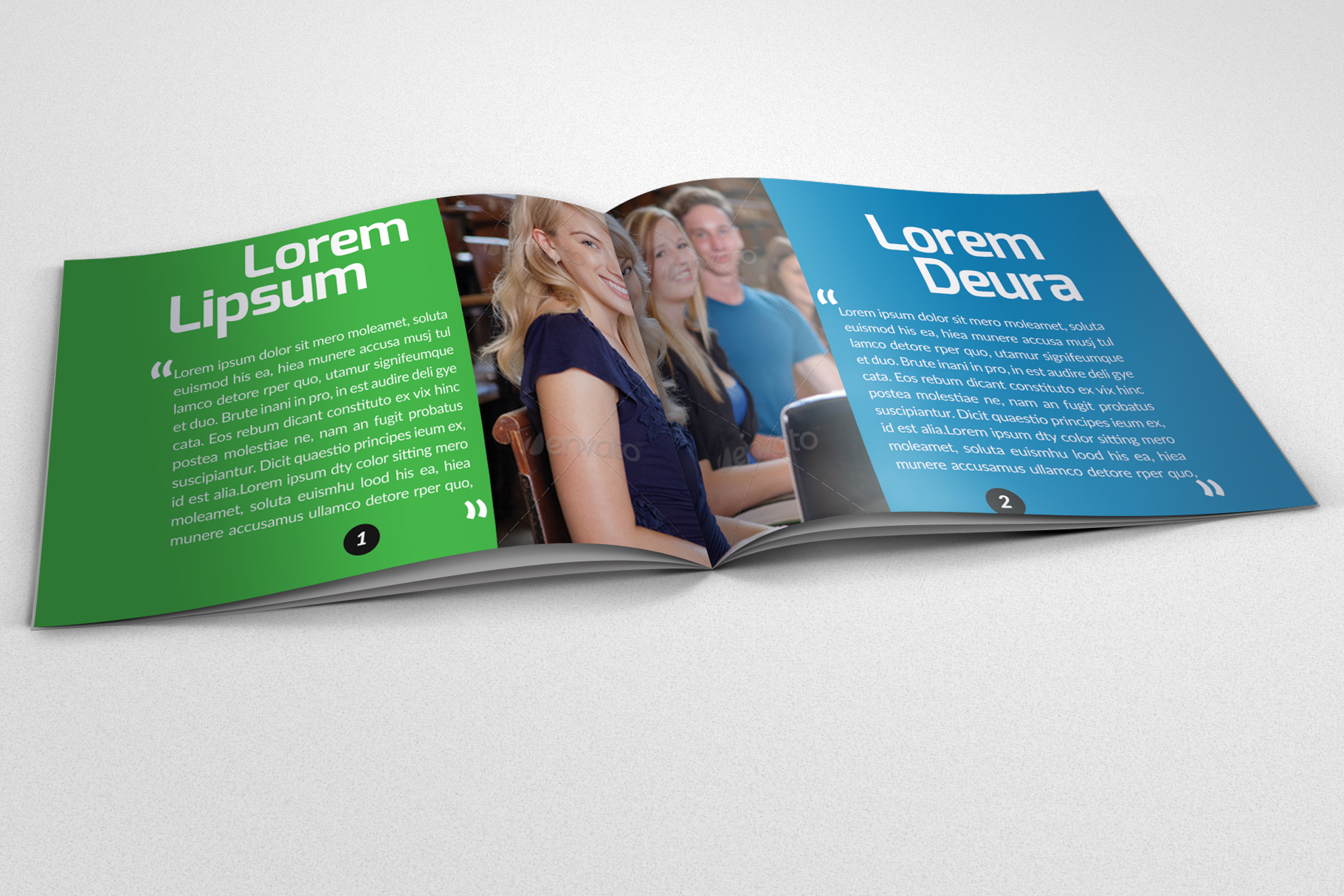 20 Pages Catalogue Education Bifold Brochure example image 10
